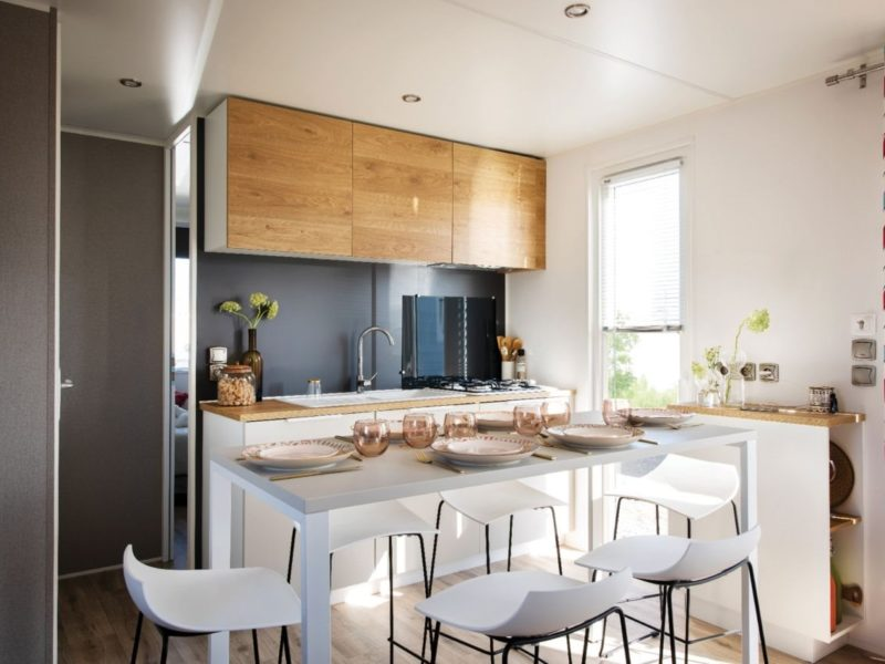 Stacaravan Cottage keuken - Rivièra d'Azur