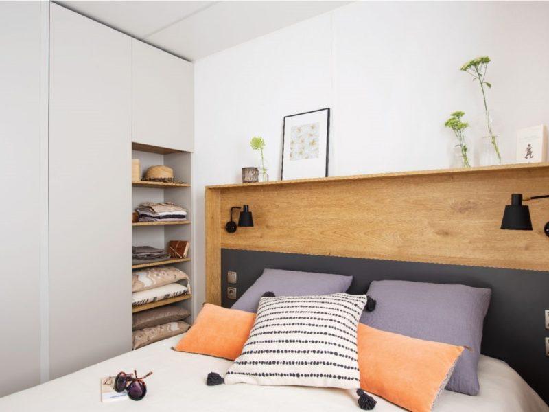 Stacaravan Cottage slaapkamer - Rivièra d'Azur