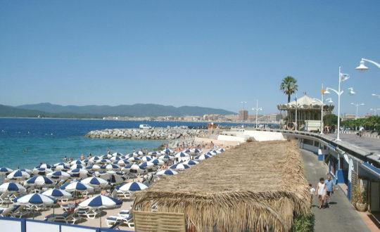 Vakantie in de baai van Fréjus-Saint-Raphaël