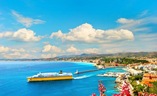 De omgeving van de Côte d'Azur