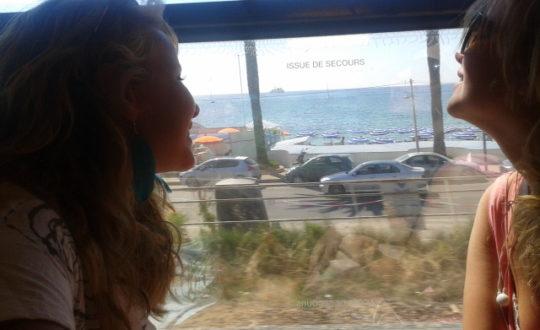 Met de trein langs de Côte d'Azur