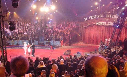 Het circusfestival van Monte-Carlo