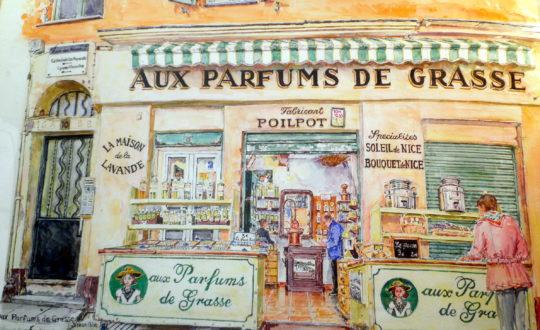 Grasse en de Parfumindustrie