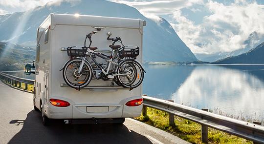 Met de tent of caravan naar de Côte d'Azur