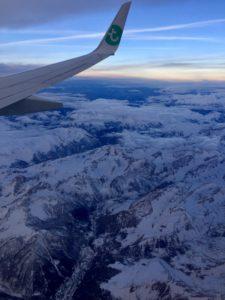 Vliegen naar Nice