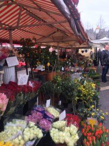 Bloemenmarkt in Nice