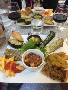 Lokaal eten Nice