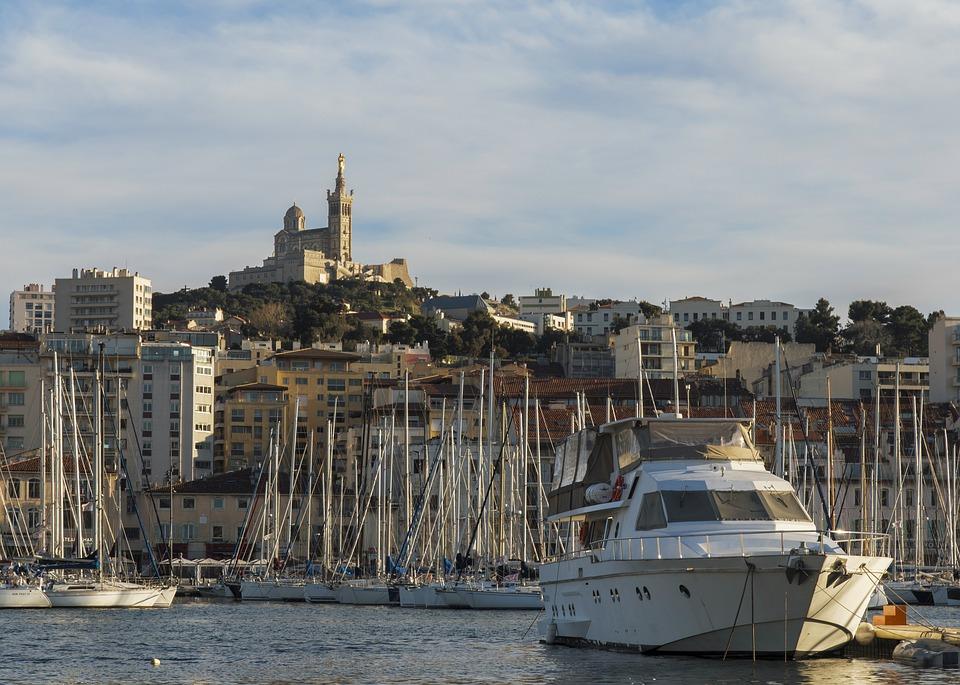 Cote d'azur havenstad Marseille