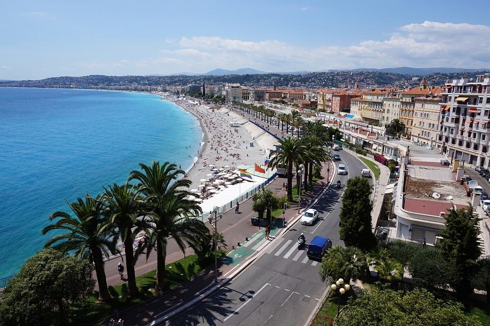 Cote d'azur kust van Nice