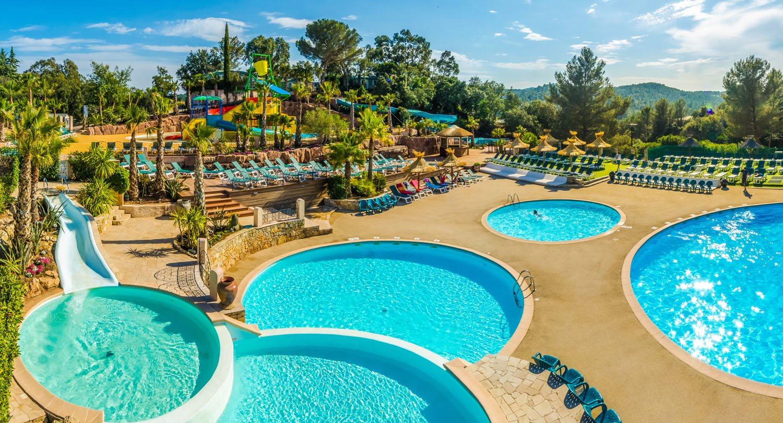 vakantieparken direct aan zee - Esterel Caravaning