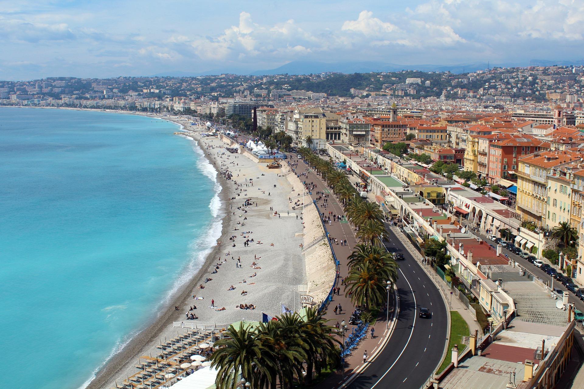 onmisbare steden aan de Coôte d'Azur - Nice