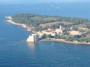 De Lérins-eilanden, Saint-Honorat