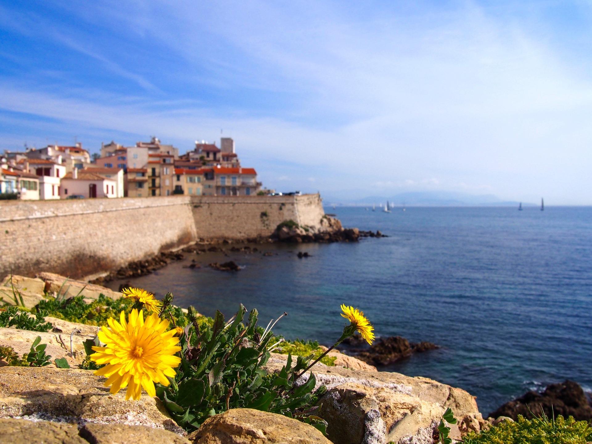 Antibes - wandelingen aan de Côte d'Azur