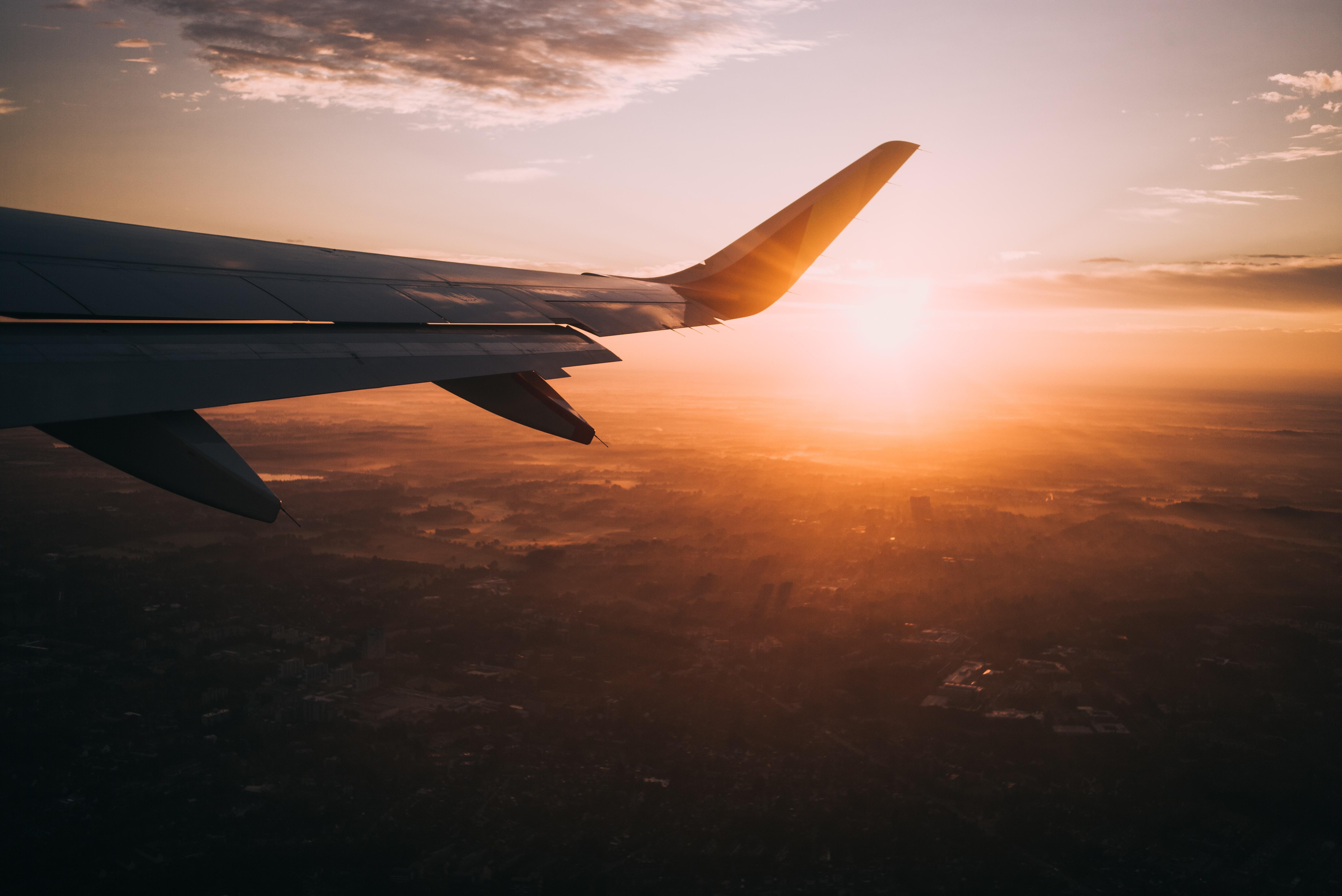 Vliegtuig Côte d'Azur