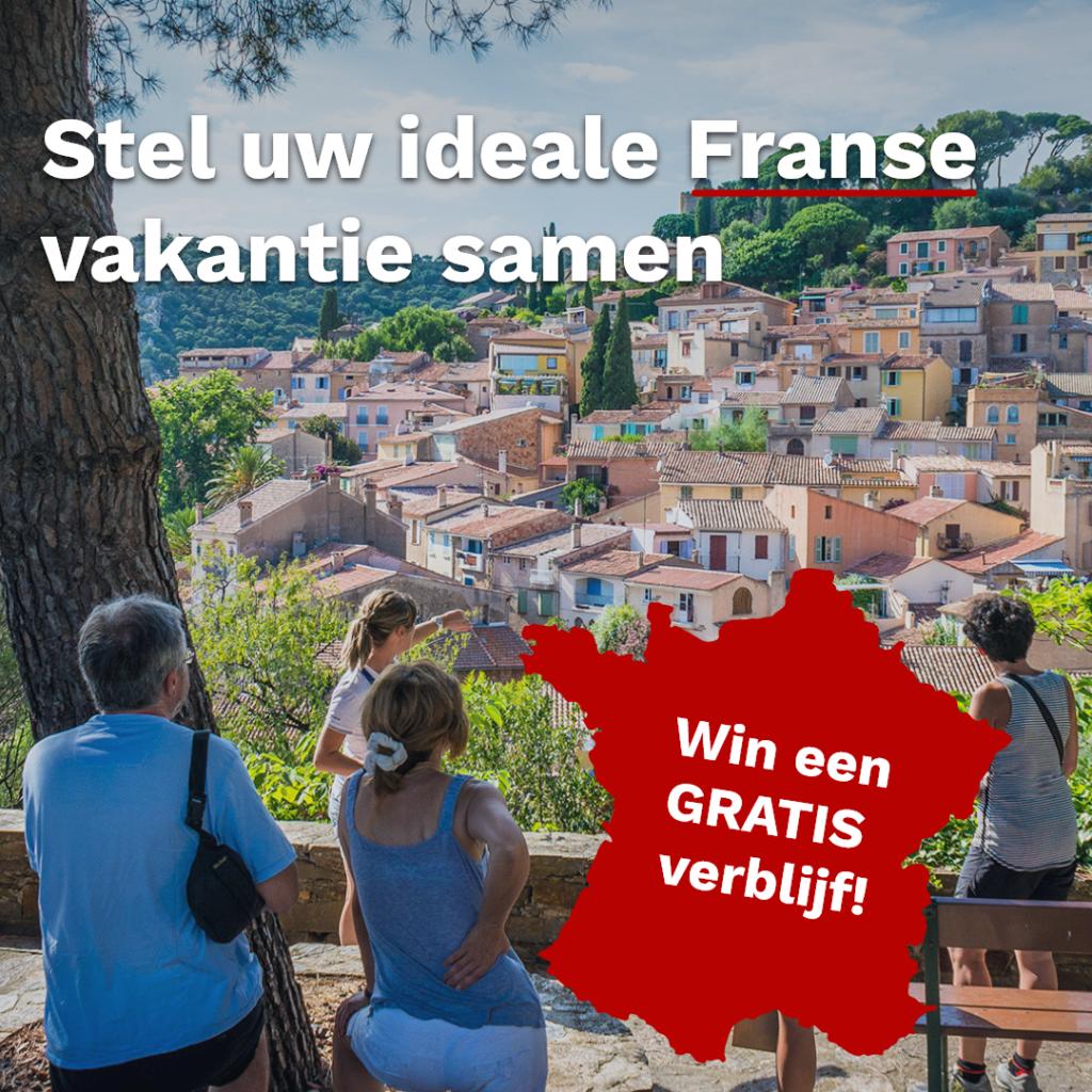 Stel je eigen vakantie samen met FranceComfort